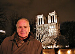 At home in Paris, Notre-Dame, Christmas Night, 2002